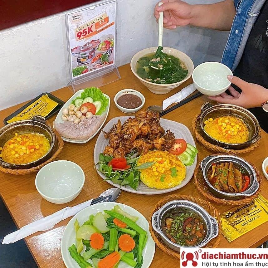 Những quán Cơm niêu Thiên Lý tại Sài Gòn