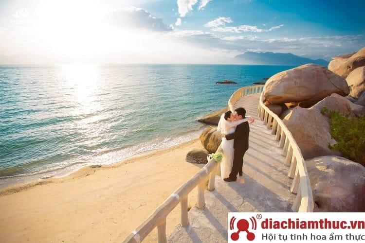 Phong cảnh đẹp chụp hình cưới Nha Trang