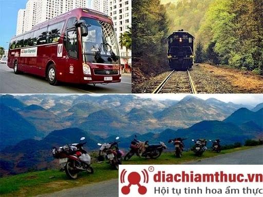 Phương tiện di chuyển đến Ninh Bình
