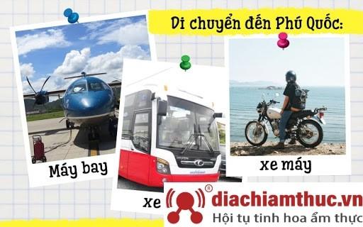 Phương tiện di chuyển đến Phú Quốc