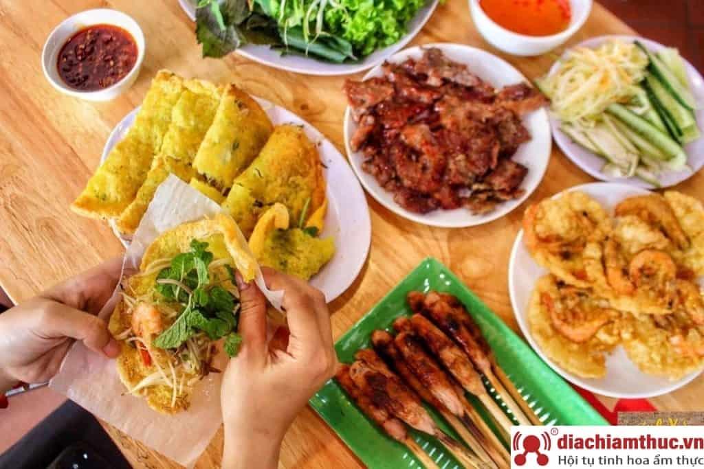 Quán bán món Bánh xèo ngon tại Đà Nẵng