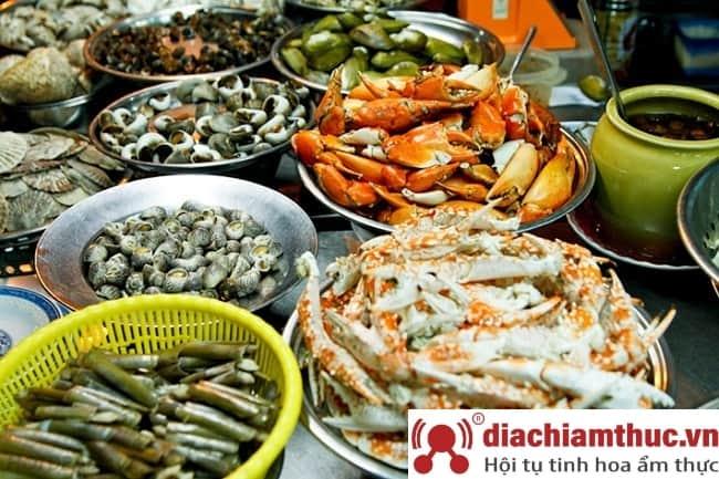 Quán hải sản Mũi Né