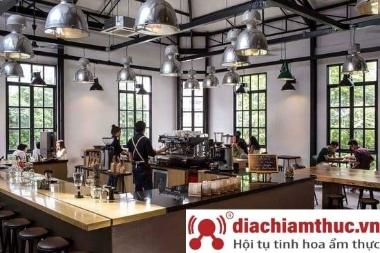 THE WORKSHOP Coffee tại SG