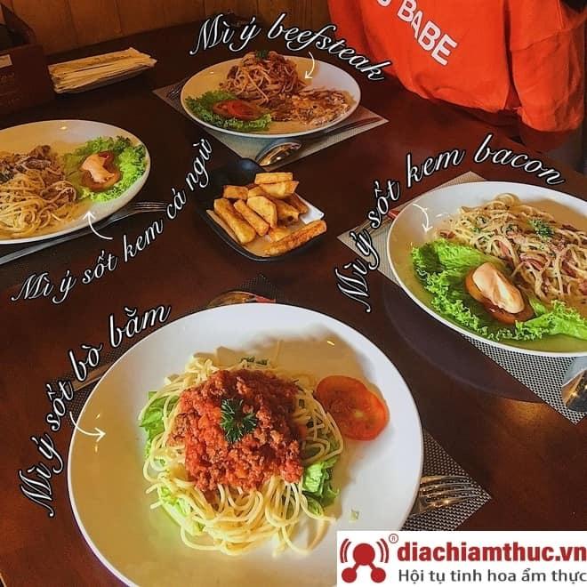 Thực đơn Quán Hẻm Spaghetti