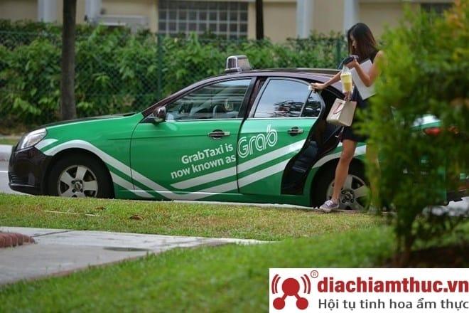 Thuê xe ô tô Grab tại Đà Nẵng