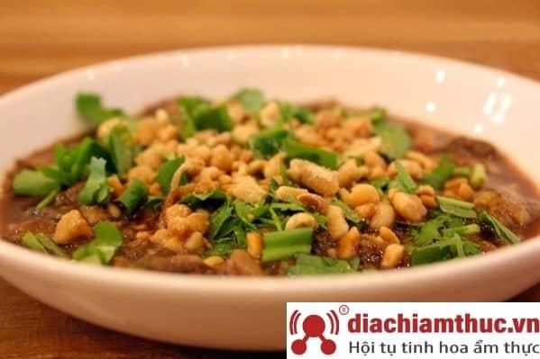 Tiết canh cua - Món ăn Phú Quốc