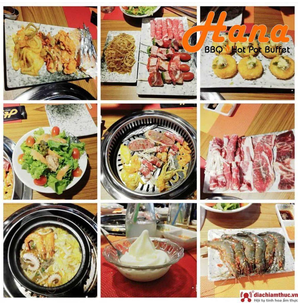 Thông tin về nhà hàng Hana Buffet BBQ