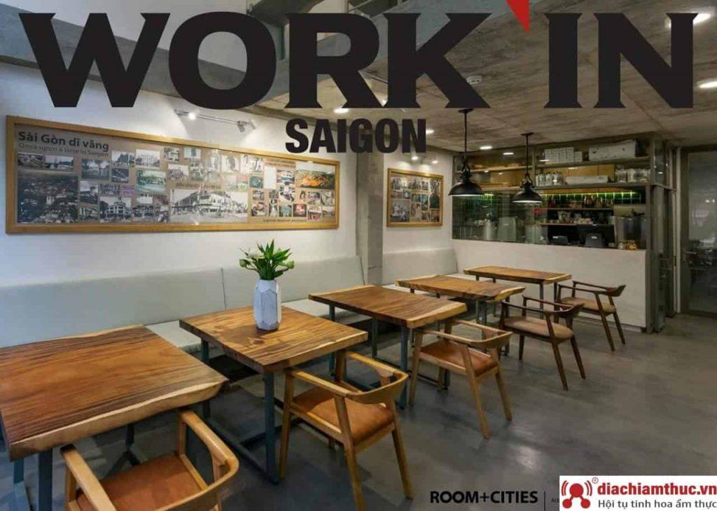 Work'in Saigon Cafe Tại SG