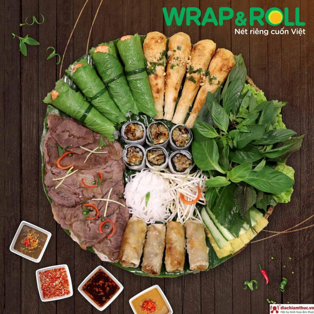 Wrap and Roll - Nét riêng cuốn Việt