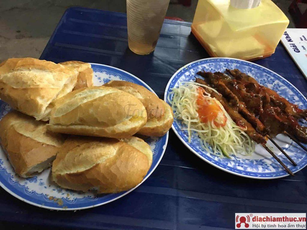 A Tùng Bánh mì bò nướng Cambodia quận 1