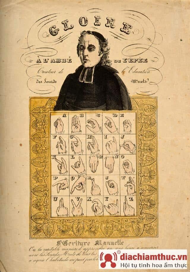 bảng ngôn ngữ ký hiệu