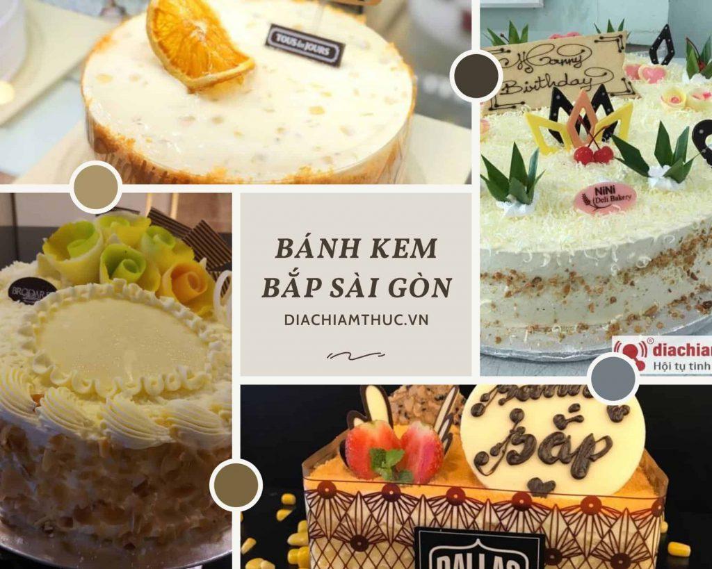 Bánh kem bắp Sài Gòn