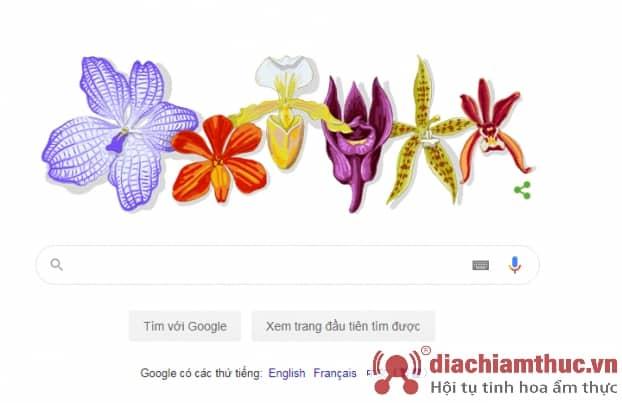 Bức ảnh google vinh danh giáo sư  rapee sagarik