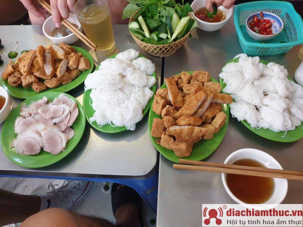 Bún đậu ngõ Đồng Thái HN
