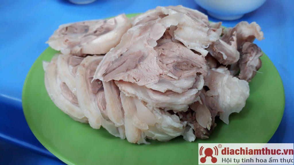 Bún đậu Phan Phù Tiên HN