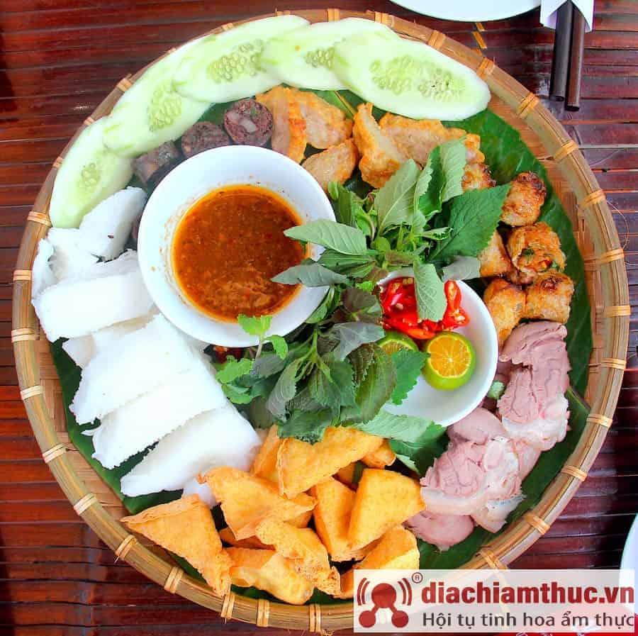 Bún đậu Phan Phù Tiên - HN