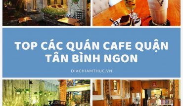 Cafe quận Tân Bình
