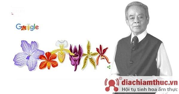 Cha đẻ của ngành hoa lan rapee sagarik