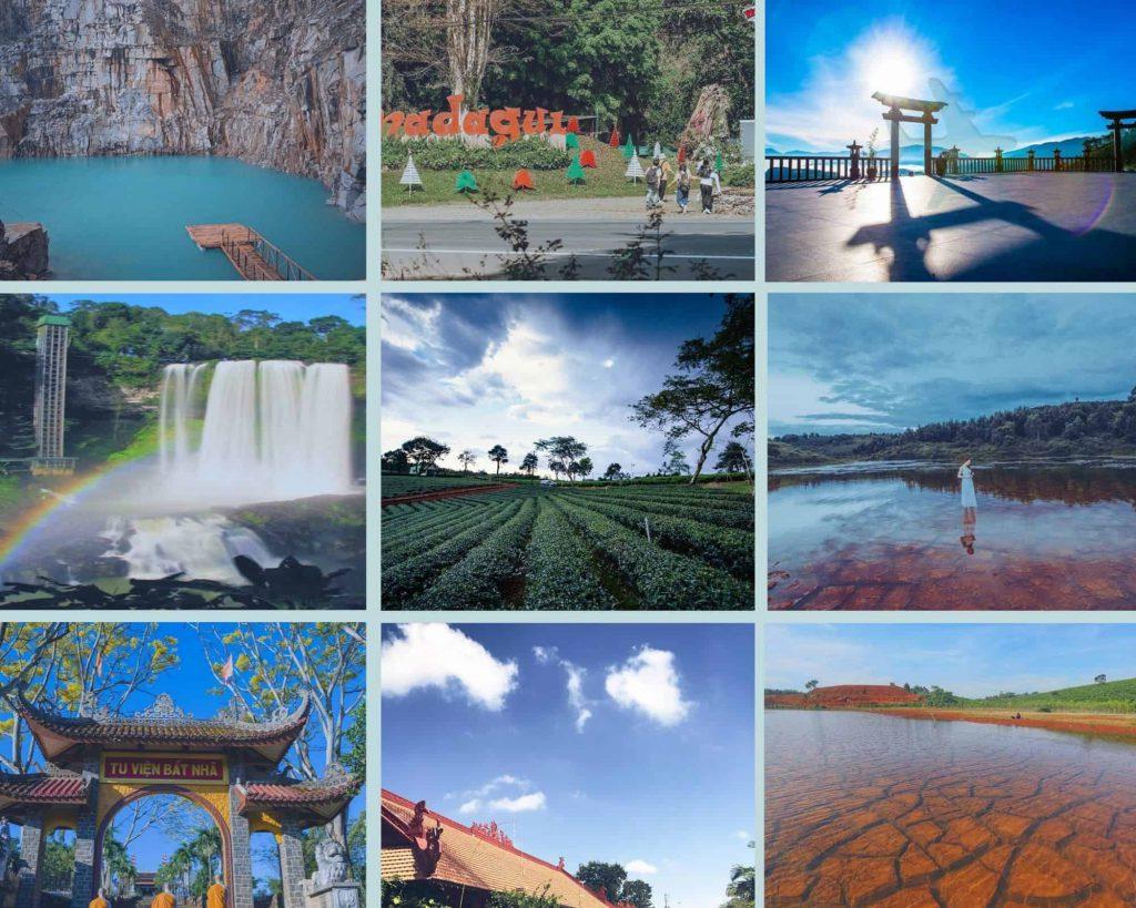 Các địa điểm du lịch ở Bảo Lộc