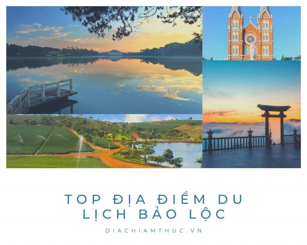 Địa điểm du lịch Bảo Lộc