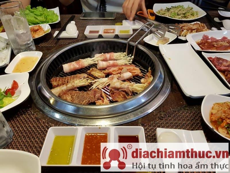 Món ăn nhà hàng Namsan