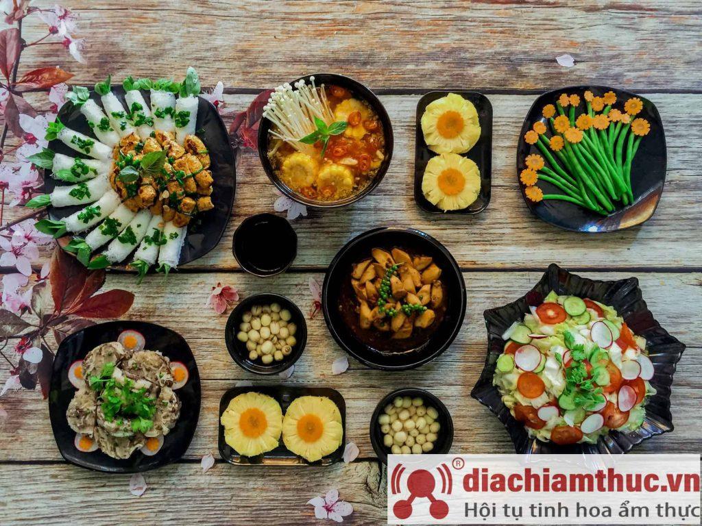 Nhà hàng chay Khai Tâm ở quận 8