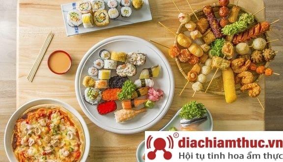 quán Sushi Viên Phương Mập tại Q. 4