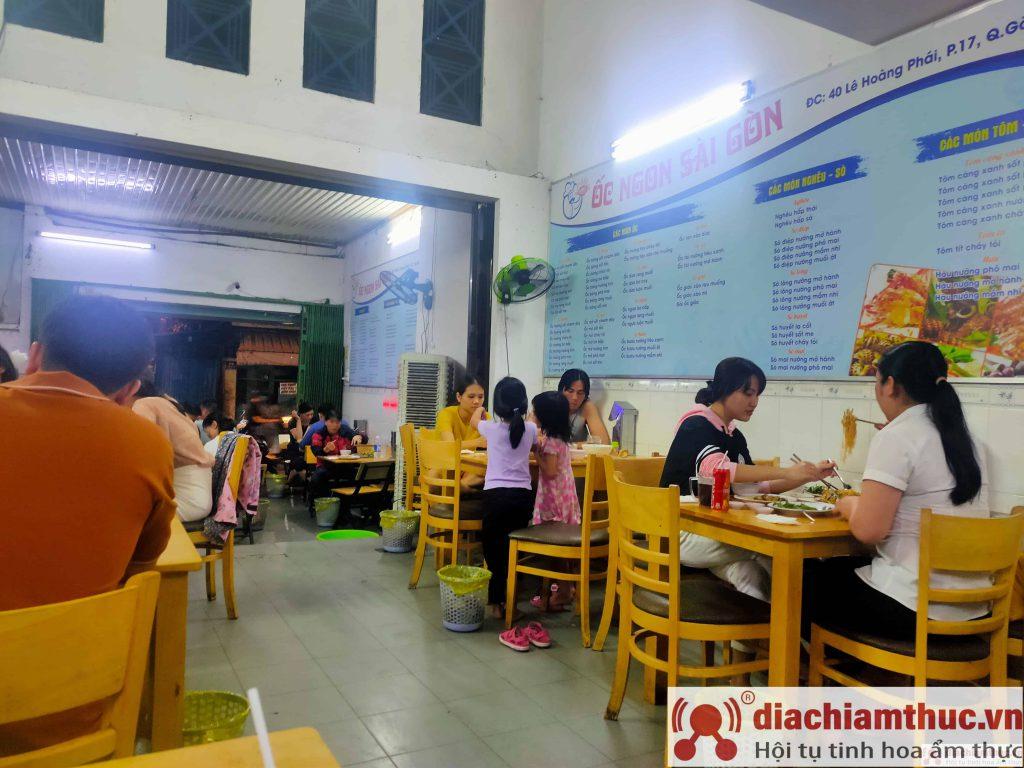 Quán ốc Ngon Sài Gòn quận Gò Vấp