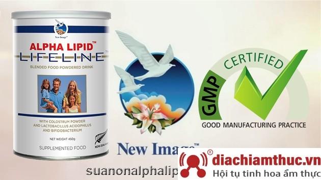 Alpha Lipid Lifeline đạt chuẩn GMP
