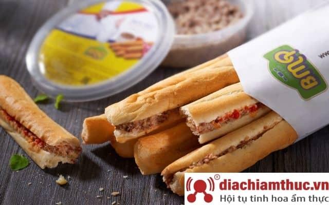 Bánh Mì Que BMQ - thương hiệu