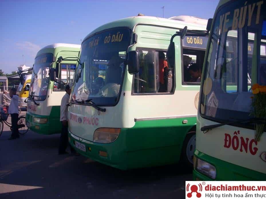 Bắt xe bus Tây Ninh