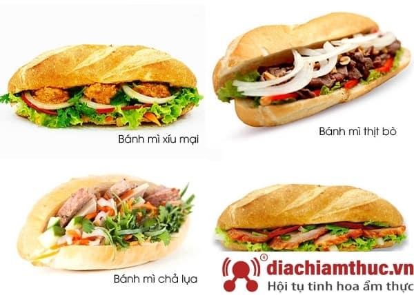 Các loại bánh mì ngon