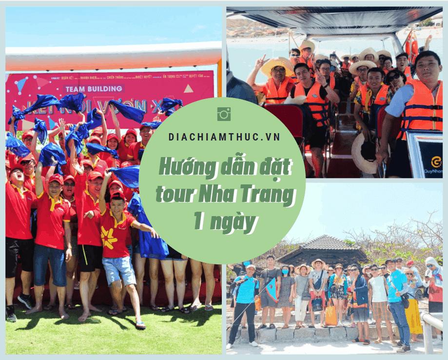 Cách đặt tour Nha Trang 1 ngày