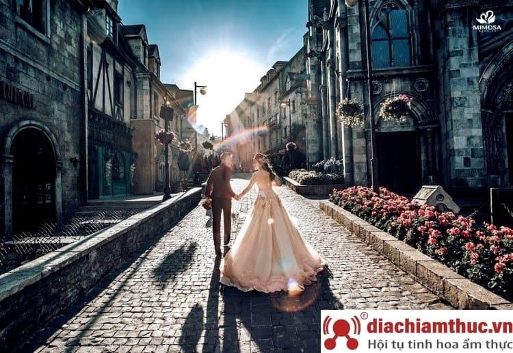 Chụp ảnh cưới tại Bà Nà Hill