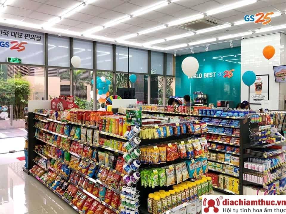 Cửa hàng tiện lợi GS25 - Chi nhánh