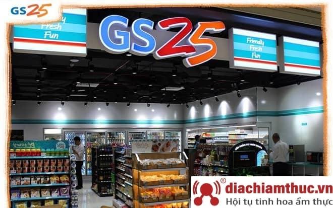 Cửa hàng tiện lợi GS25 - Thông tin