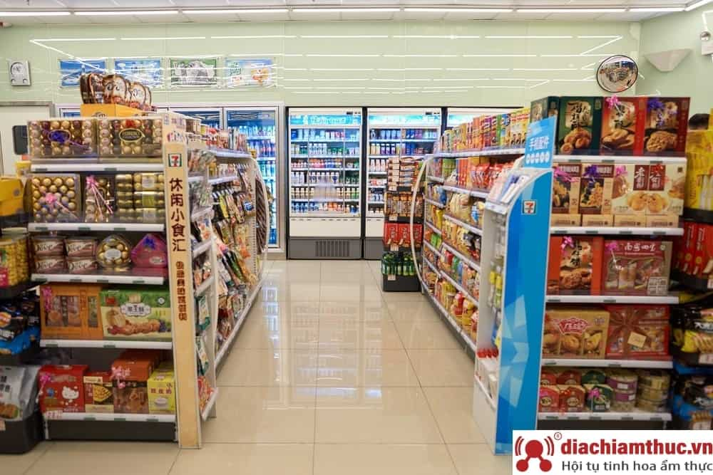 Cửa hàng tiện lợi - mặt hàng bán