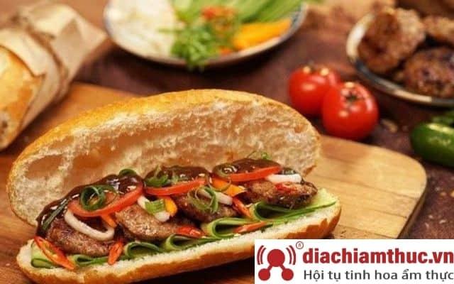 Danh sách tiệm bánh mì gần đây ở quận Tân Phú