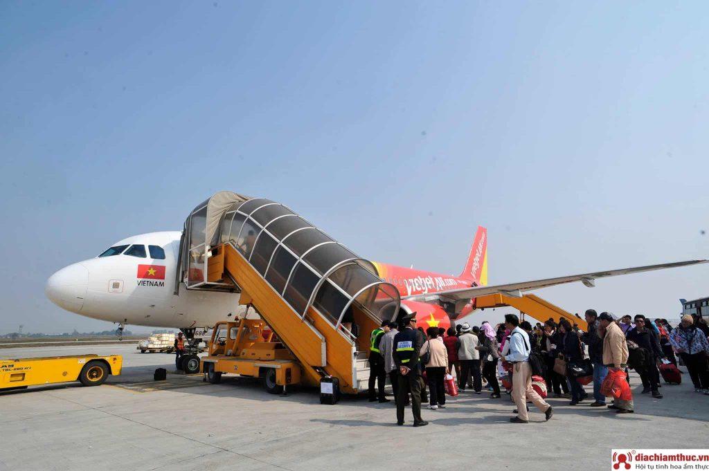 Đi Máy bay đến Nha Trang