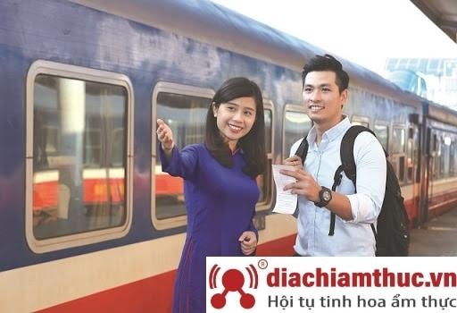 Đi Tàu hỏa đến Nha Trang