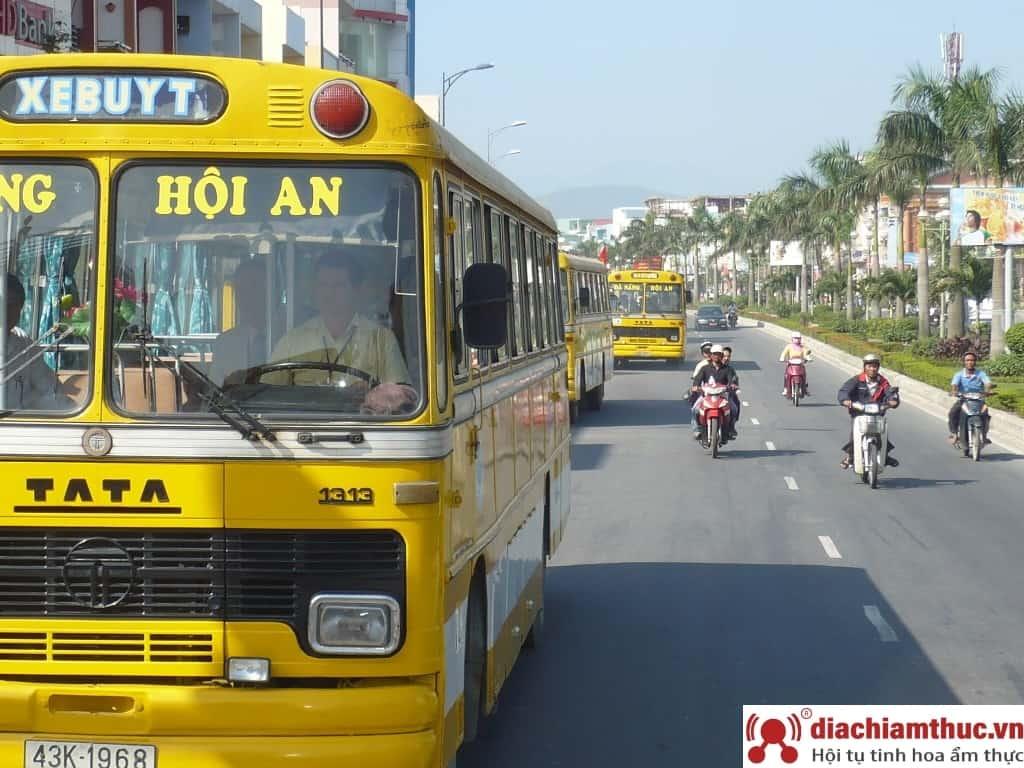Đi Xe bus từ Đà Nẵng đến Hội An
