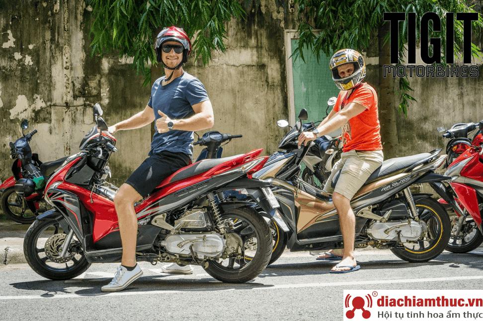 Di chuyển bằng Xe máy đến Vinpearl Land Nha Trang