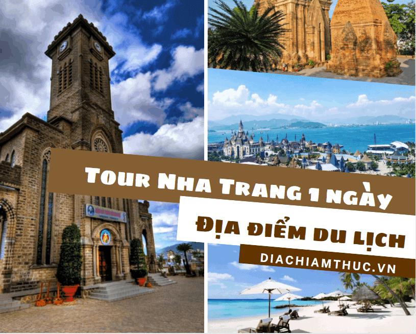 Địa điểm du lịch tour Nha Trang 1 ngày