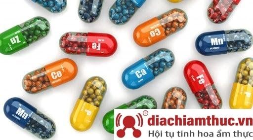 Giai đoạn 4 Bổ sung vitamin khoáng chất