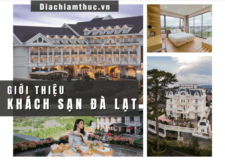 Giới thiệu khách sạn Đà Lạt