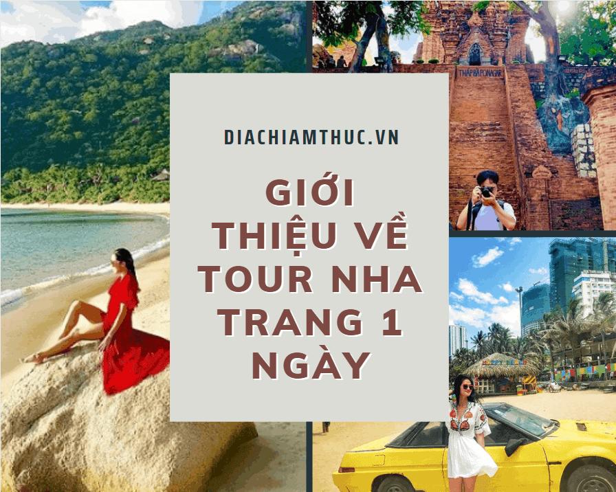 Giới thiệu về chương trình tour Nha Trang 1 ngày