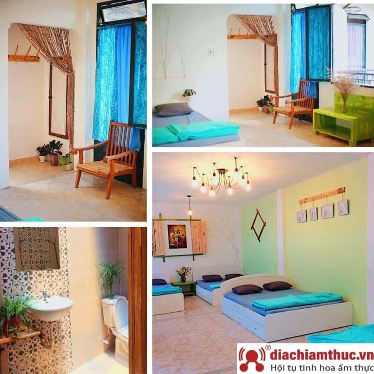 Lemongrass homestay - không gian