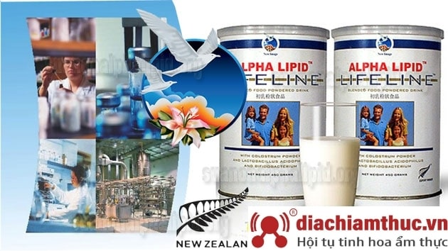 Nhà máy sản xuất sữa non Alpha Lipid Lifeline