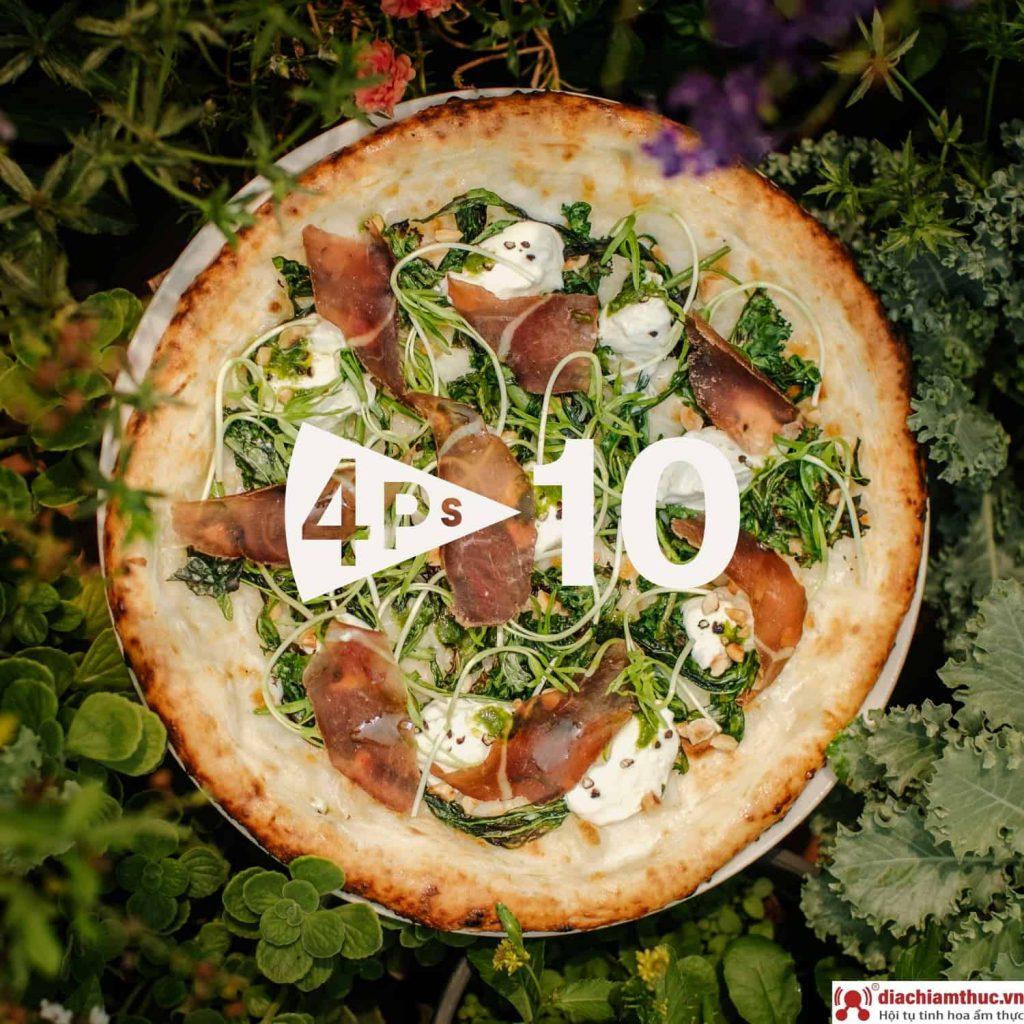 Pizza 4P's - Chi nhánh