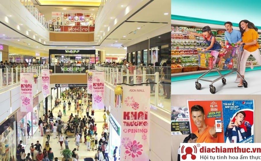 Siêu thị và trung tâm thương mại